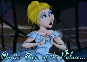 On the Steps of the Palace by marbri