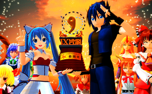 9th MMD Cup Fighting Spirit Award by RaikuHoshigami