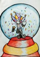 crystal ball dimentio by spirovefrfrv