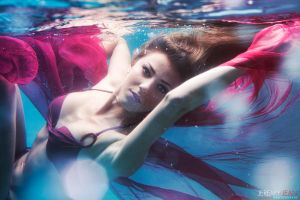 Underwater Fashion Photography by jeremy-jean
