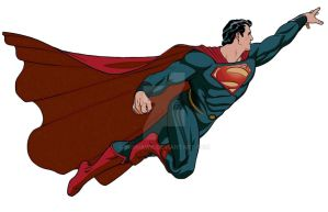 THE MAN OF STEEL by BroHawk