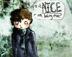 Is it nice not being me? by Taeblossom