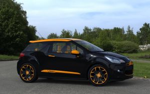 Citroen DS3 Sport orange R1 by RJamp