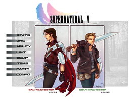 Final Fantasy SPN by rivertem