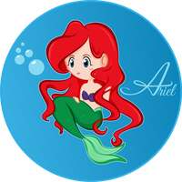 Ariel by CupcakeAmande
