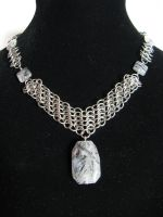 Euro V Choker by DeviantChainMaille