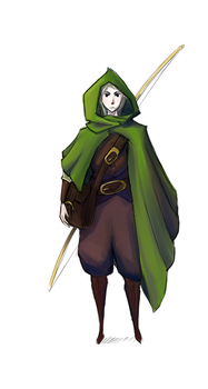DnD Character Design by M03PS