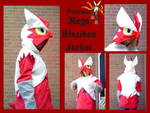 Mega Blaziken Jacket by methuselah-alchemist