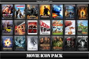 Movie Icon Pack 9 by FirstLine1