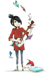 Kubo and the two strings by Niji-iro