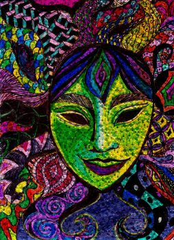 Holographic Zentangle by illmatar