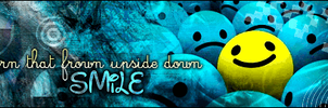 SMILE Banner - Smiley by AtomicBrownie
