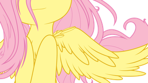 Angelic Fluttershy by tyler611
