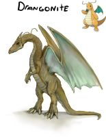 dragonite by lordrhino15