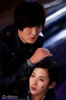 City Hunter Drama Portrait by Bryoshe
