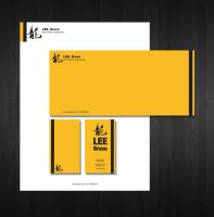 Bruce Lee Stationary by ChineseWarri0r