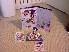 Sonic Adventure 2 Battle Figure:Sonic by spaceman022
