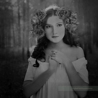 Romantic vision - Black and White by ROSASINMAS