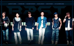 B2ST WP by deathnote290595