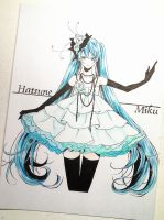 Hatsune Miku (Just a Game ver.) by Enolay