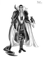 Count Dracula by MDTartist83