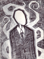 The Slenderman by blackheartangel55