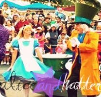 Alice and the Mad Hatter by missdisney9