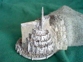 Minas Tirith Model by Taqresu650