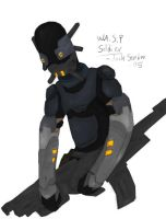 WASP soldier concept art by Kyoushu0