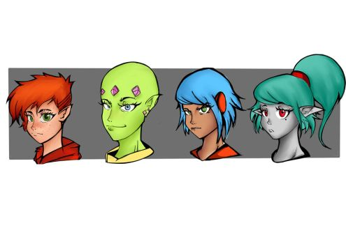 The Characters 2 by ZakSketch