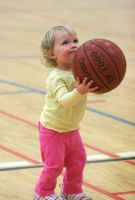 Shooting Baskets -- 3 by juliekswenson