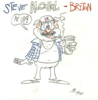 Steve Alcohol - Briton by Granitoons