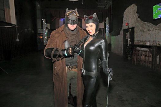Batman and Catwoman by OCCxHarleyRider