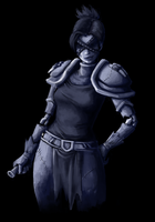 Narica: Undead Rogue by ippylovesyou
