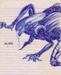 Xenomorph Alien by maximusthedark