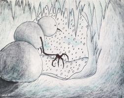 The Abominable Snowman Hiding in Recluse by Kongzilla2010