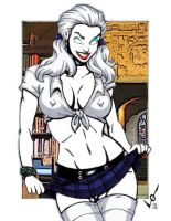 Lady Death - Colour8 - GBlair by Drazhar24