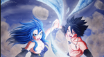 Gray And Juvia - ''Synchronized Love Attack'' by Ric9Duran