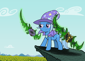 Trixie's Warglaives by BruinsBrony216