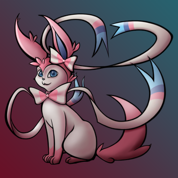 Sylveon by twitchydoo