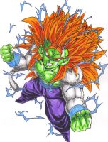 Super Saiyan 5 Cumber by DBZ2010