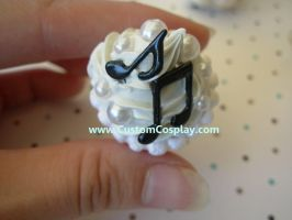 Music note cupcake ring by The-Cute-Storm