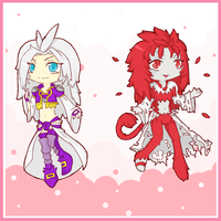 Kuja and...Trance Kuja by Rydiah