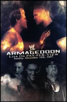 WWE Armageddon 2007 Poster by HrZCreatives