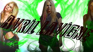 Avril Lavigne Wallpaper 3 by IsaacArtHampshire