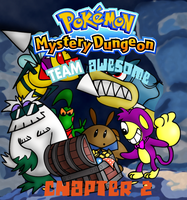 PMD Team Awesome Chapter 2 Cover by PDoogan