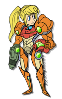 Samus Aran by The-Knick