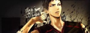 my new Aomine FB Banner by lotras