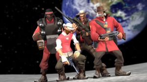 teufort space cowboys by qatarz