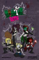 Monster Dolls Poster Art by thezombified